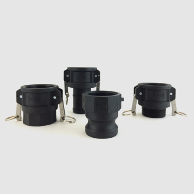 Polypropylene camlock fittings, camlock fittings, fittings, PP camlock fittings, camlock couplings